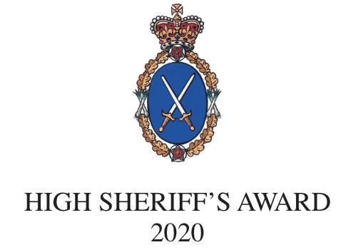 high sheriffs award